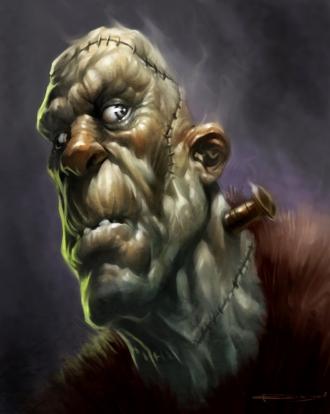 Frankenstein by P. Reilly